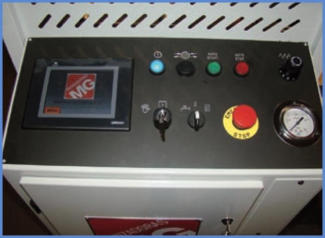 panneau de commande K 300 AA CNC MG Tronzadoras