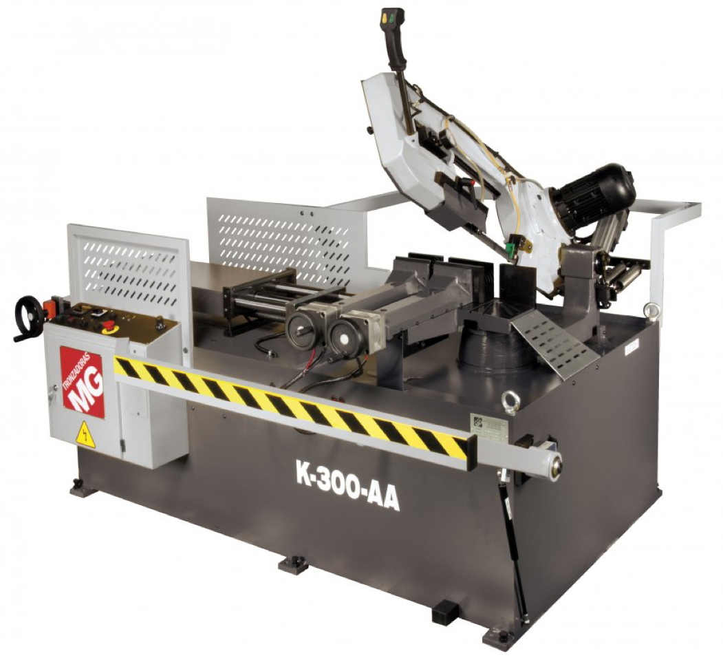 scie a ruban avec amenage automatique K 300 AA CNC MG Tronzadoras